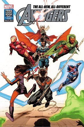 On Free Comic Book Day Meet Marvel's All-New, All-Different Avengers
