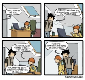 A Coder's Laptop