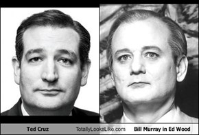 Ted Cruz Totally Looks Like Bill Murray in Ed Wood