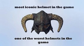 It Couldn't Have Been the Daedric Helmet Instead?