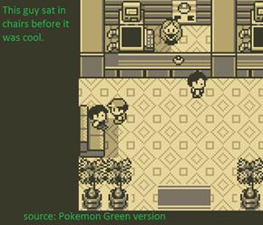 Hipster Pokémon Green