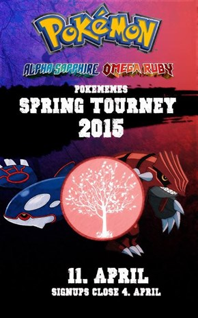 Welcome To The Spring Tournament 2015!