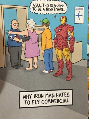 Does Hallmark Not Understand Iron Man?