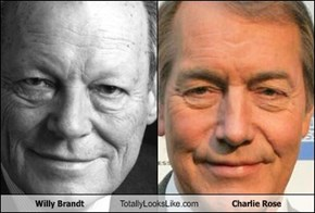 Willy Brandt Totally Looks Like Charlie Rose