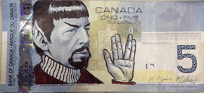Tribute of the Day: Fans Honor Leonard Nimoy By 'Spocking' Canadian Currency