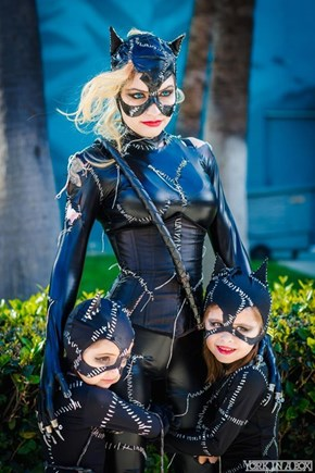 Catwoman Had Kittens!