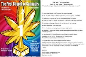 Praise the Bong! It's the First Church of Cannabis