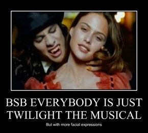 BSB EVERYBODY IS JUST TWILIGHT THE MUSICAL