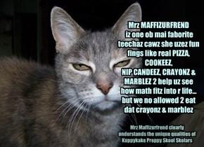 Kuppykakes Preppy Skolar Reviews Nu Math Teecha: Mrz MAFFIZURFREND