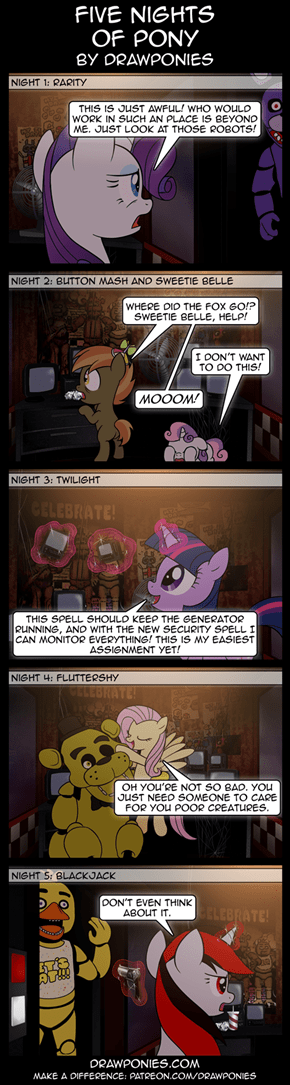 Five Nights of Ponies