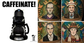 The 12 Doctors Get Re-Imagined on Starbucks Coffee Cups