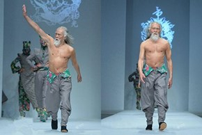 He's 79 Years Old, and Killing it on the Runway
