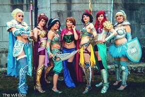 A Dozen Princess Cosplays to Disnefy Your Day