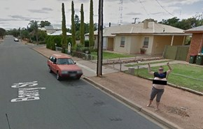 Exposure of the Day: Australian Woman Flashes Google Street View Car