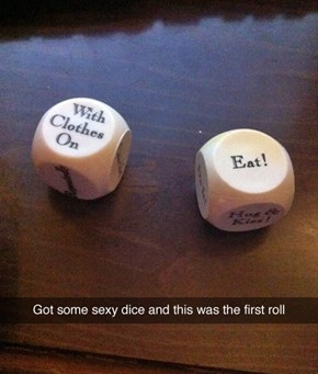 These Sexy Dice Getting You in the Mood?