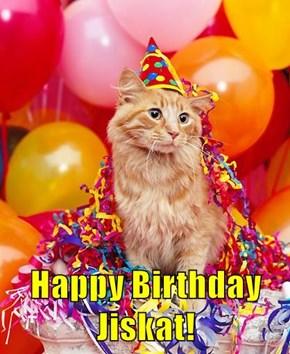 Happy Birthday Jiskat!