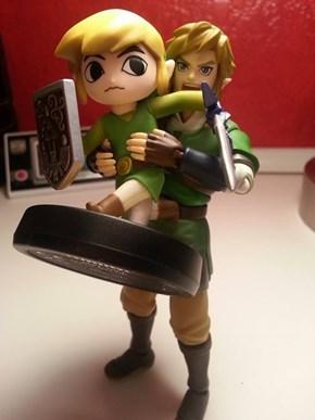 Ew! He's Touching Himself!