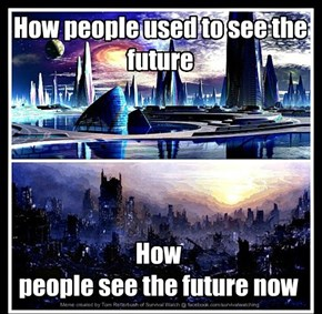 How people used to see the future