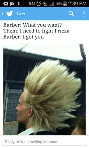 Give Me That Over 9000 Hair