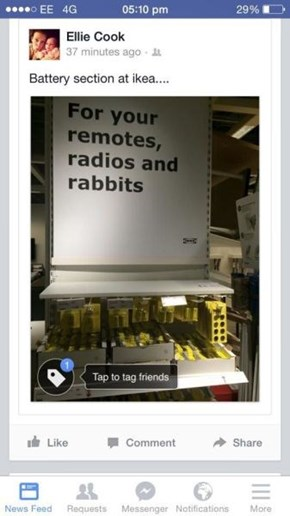 Ikea Knows What You're Thinking (You Dirty, Dirty Person)