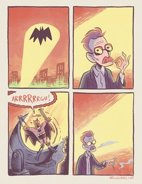 A Symbol of Hope For Gotham