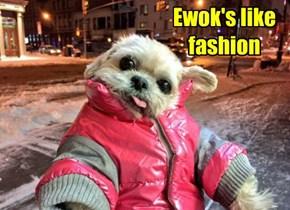 Ewok's like fashion