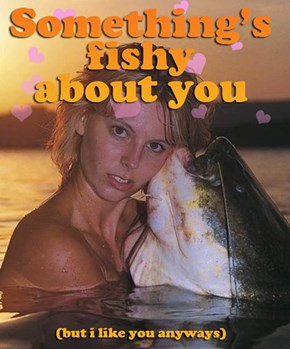She's Super Fishy
