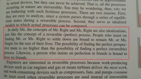 Dating Advice From an Engineering Textbook