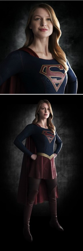 The First Images of Supergirl
