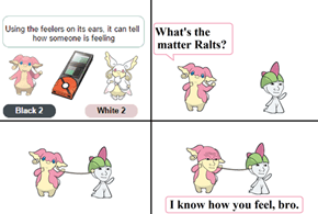 Ralts - The Feeling Pokémon