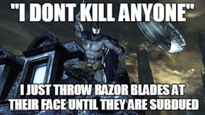 Batman Has Principles