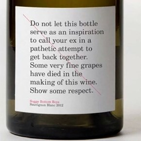 Please, Respect the Grapes