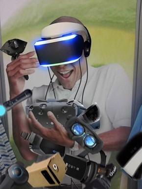 So Many VR Experiences...