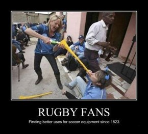 Hooray for Rugby