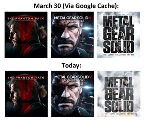 So Wait, Konami Is Putting Kojima Back in Metal Gear?