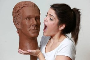 Here's That Benedict Cumberbatch Made Out of Chocolate You Never Knew You Wanted