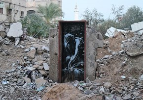 Fail of the Day: Man in Gaza Sold an Original Banksy for Just $175
