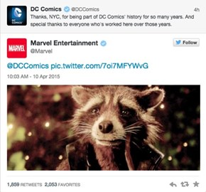 DC's Move and Marvel's Response, Will Give Your All Those Manly Feels