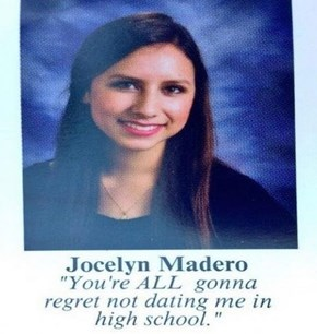 Possibly the Greatest Senior Quote