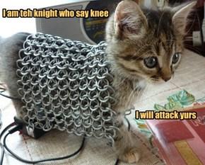 I am teh knight who say knee