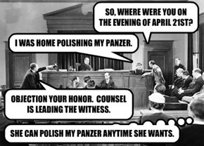 SO, WHERE WERE YOU ON THE EVENING OF APRIL 21ST?