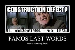 FAMOS LAST WORDS
