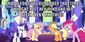 Pinkie Pie's Poignant Memories