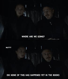 Sansa and Littlefinger's Departure