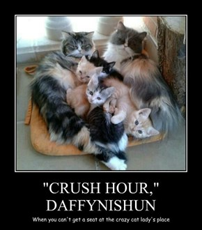 """CRUSH HOUR,"" DAFFYNISHUN"