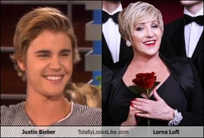Justin Bieber Totally Looks Like Lorna Luft