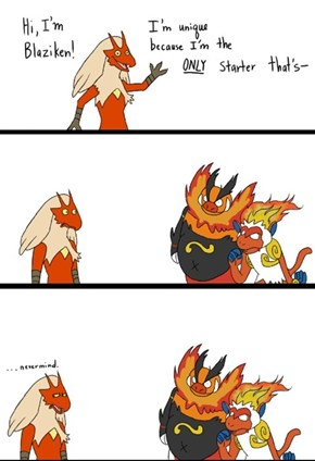 The Only Starter That's a Fire Chicken