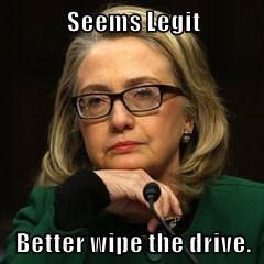 Seems Legit  Better wipe the drive.