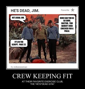CREW KEEPING FIT