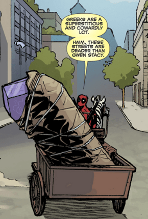 Insensitive Deadpool